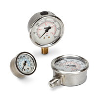 Glycerine Filled Pressure Gauges