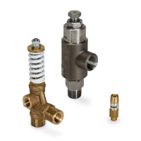 Relief/Pop-Off Valves